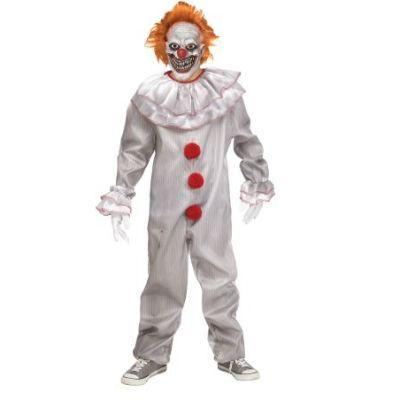 Carn-evil IT Clown Child Costume