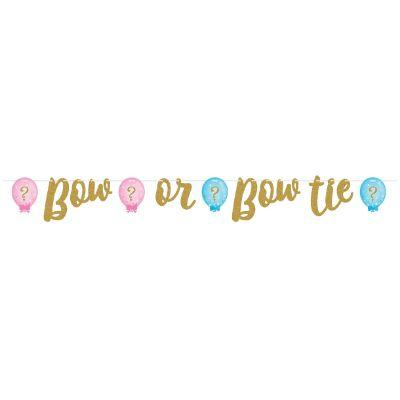 Bow Or Bow Tie Letter Banner 64