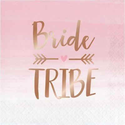 Rose All Day Bride Tribe Lunch Napkins - 16 Pack