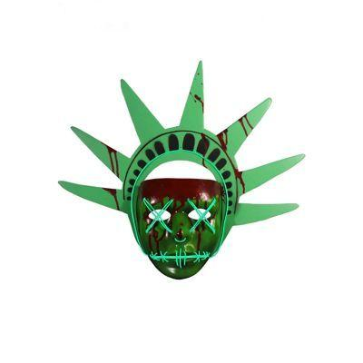 Lady Liberty Light Up Adult Mask - The Purge: Election