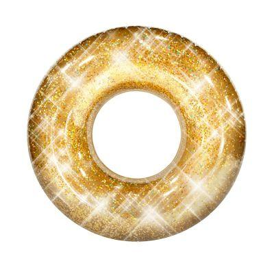 Beach & Pool Tube Gold Glitter