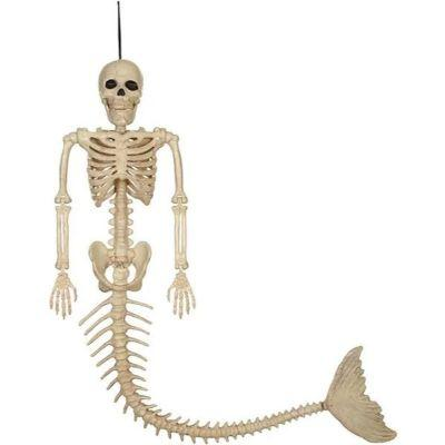 Skeleton Mermaid Decoration 21