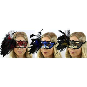 Side Lace Eye Mask - Assorted