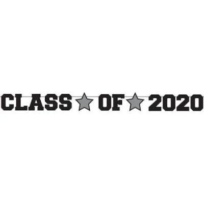 Class Of 2020 Black Banner 5.5'