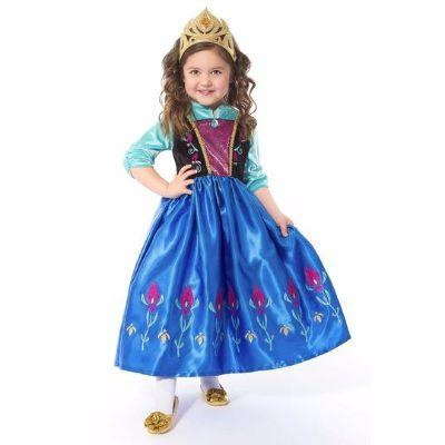 Winter Princess Play Dress Child Costume