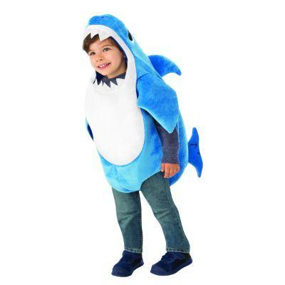 Daddy Shark Child Costume - Baby Shark