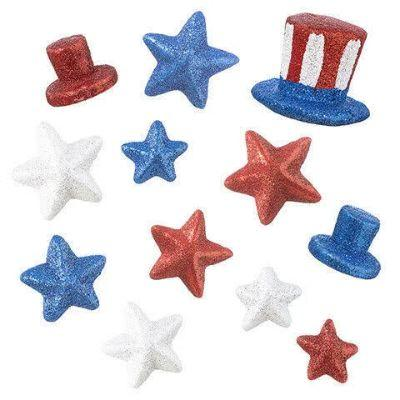 Patriotic Table Scatters - Assorted