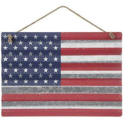 American Flag Metal Wall Decoration 16