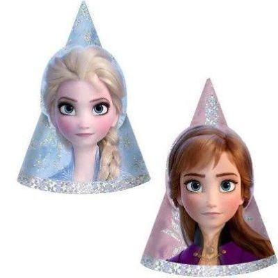 Frozen 2 Party Hats - 8 Pack