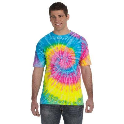 Tie Dye Saturn Shirt Adult