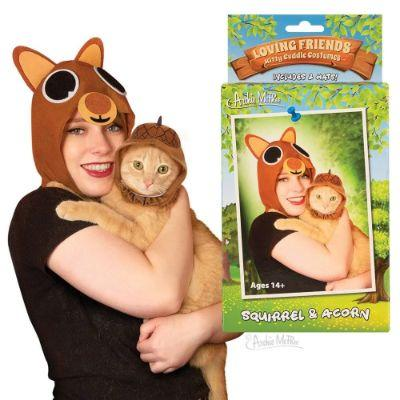 Squirrel & Acorn Pet Costume