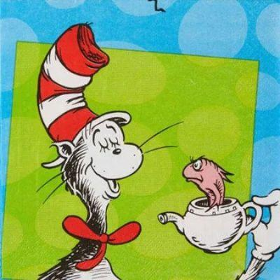 Dr. Seuss Luncheon Napkin - 16 Pack