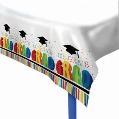 Graduation Multicolored Tablecover 54