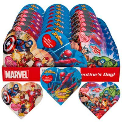 Spider-Man/Avengers Valentines Heart Chocolates