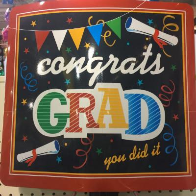 Graduation Yard Sign - Assorted Designs