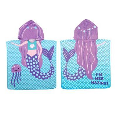 Mermaid Kids Beach Towel