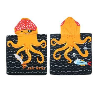 Octopus Child Beach Towel