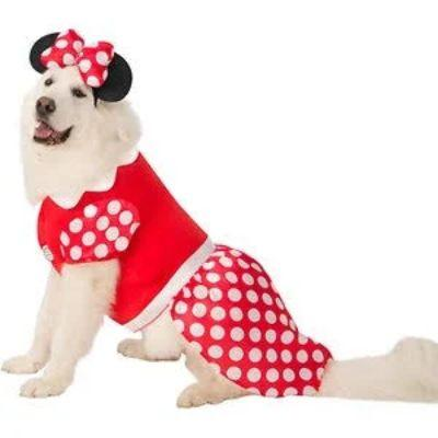 Minnie Mouse Big Pet Costume