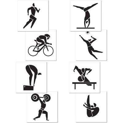 Olympic Summer Sports Cutout - 8 Pack