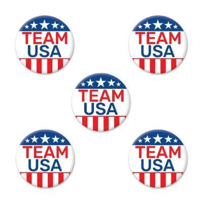 Team USA Buttons - 5 Pack