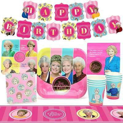 Golden Girls Party Pack - 8 Pack