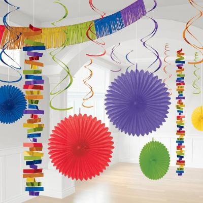 Rainbow Decoration Kit - 18 Pack