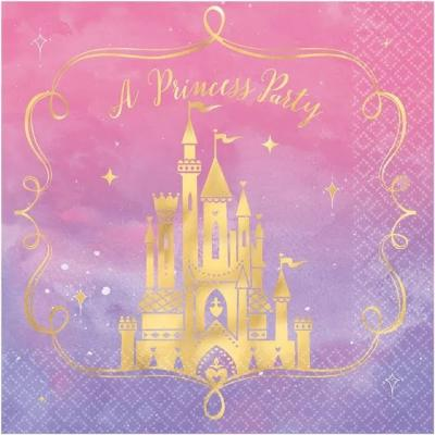 Disney Princess Luncheon Napkin - 16 Pack