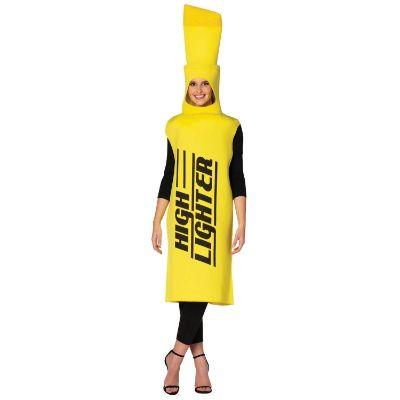 Yellow High Lighter Costume