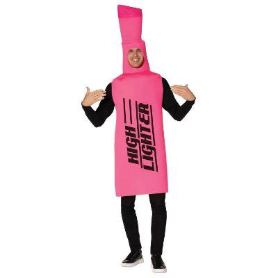 Pink High Lighter Costume