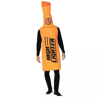 Orange High Lighter Costume