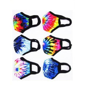 Tie Dye Face Mask - Assorted