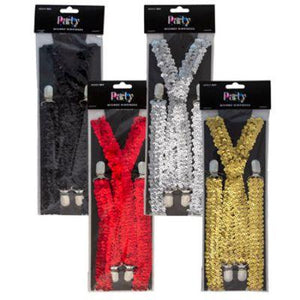 Sequin Suspenders - Assorted