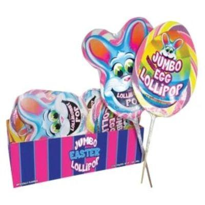 Jumbo Easter Lollipop Bunny or Egg