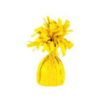 Mylar Yellow Balloon Weight