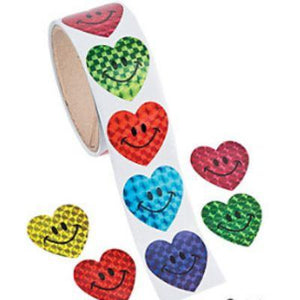 Sticker Rl Smile Heart Laser Un100