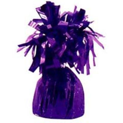 Mylar Purple Balloon Weight