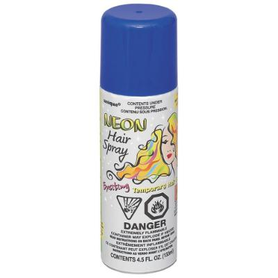 Neon Blue Hairspray 4.5oz