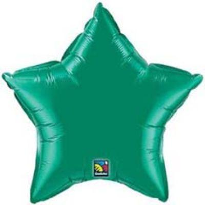 Solid Green Star 18