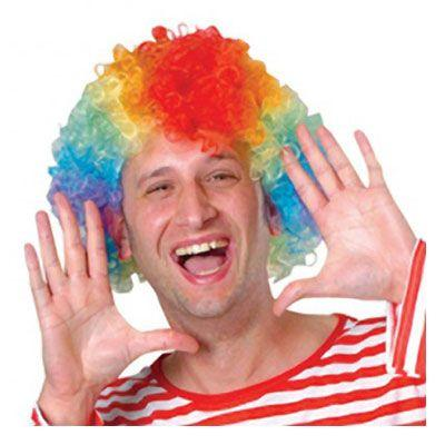Clown Wig Multicolor