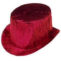 Red Cellophane Top Hat
