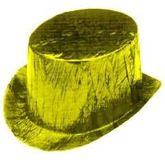 Yellow Cellophane Top Hat