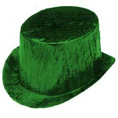 Green Cellophane Top Hat