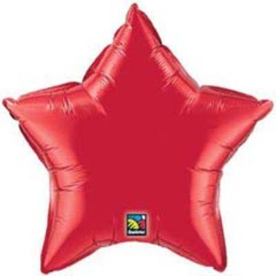 Solid Red Star 18