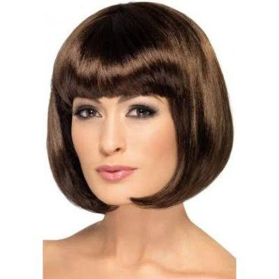 Partyrama Brown Bob Wig