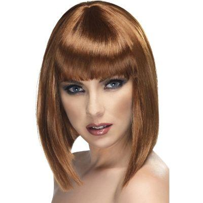 Glam Brown Bob Wig