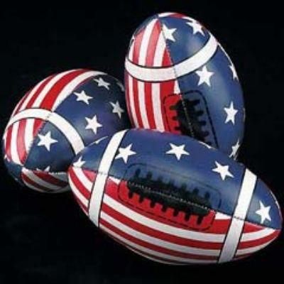 Stars & Stripes Vinyl Football