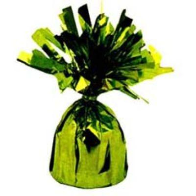 Mylar Lime Green Balloon Weight