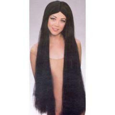 Extra-Long Black Witch Wig