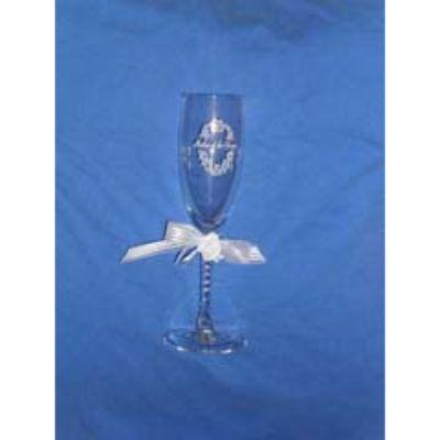 Glass Flute Twist Mother Of Groom