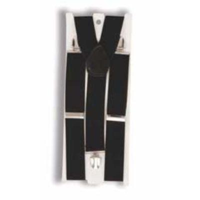 Black Suspenders Adult